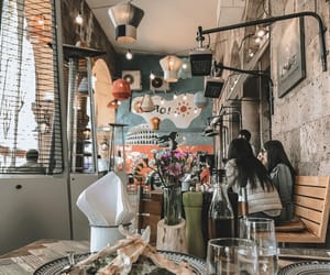 theme, aesthetic, and cafe image