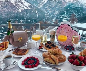 food, breakfast, and luxury image