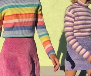 aesthetic, retro, and outfit image