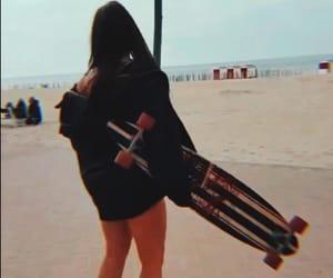 amazing, girl, and beach image