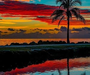clouds, colors, and hawaii image