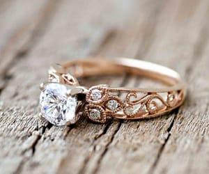 beautiful, diamond, and golden image