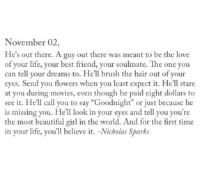 goals, love, and nicholas sparks image