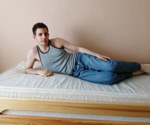 model, gergely, and pose image
