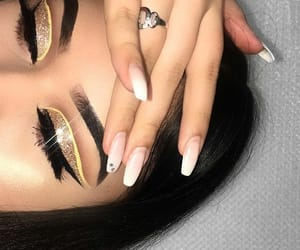 beauty, glitter, and icon image