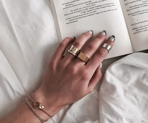 accessories, book, and nails image