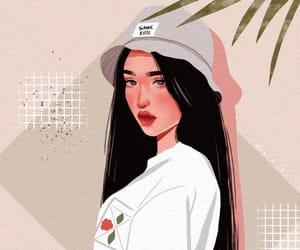 aesthetic, art, and art girl image