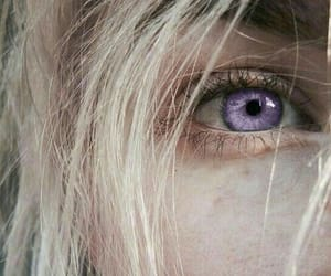blonde, eyes, and aesthetic image