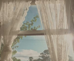 aesthetic, window, and nature image