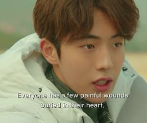 kdrama, caption, and drama image