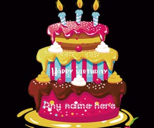 Happy Birthday Wishes Name Cakes And Cake With Image
