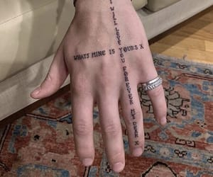 tattoo, hand, and aesthetic image
