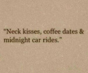 love, coffee, and date image