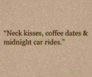 love, kiss, and coffee image