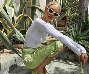 fashion, california, and green image