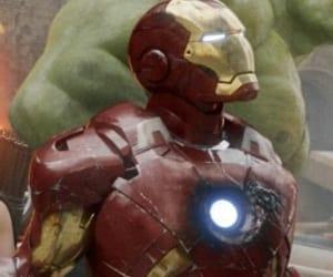 Hulk and tony stark image