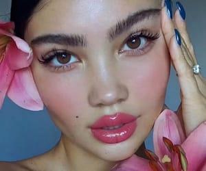 blush, flower, and girls image