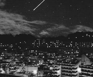 manga, stars, and sky image