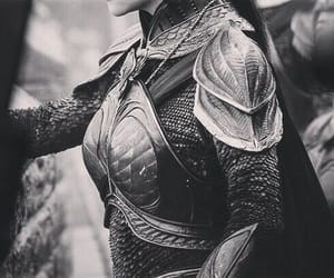 aesthetic, female warrior, and female armor image