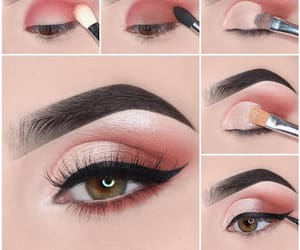eyes, love, and makeup image