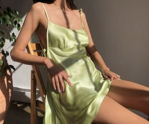 green, aesthetic, and fashion image