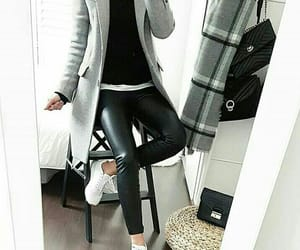 black, grey, and style image