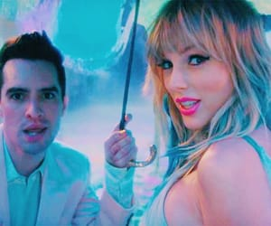 blue, brendon urie, and colorful image