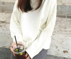 asian, clothes, and coffee image