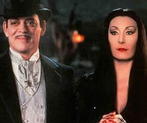 amor, Halloween, and Morticia Addams image