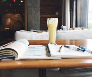 cafe, motivation, and study image