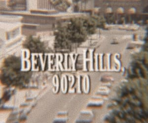 Beverly Hills, vintage, and beverly hills 90210 image