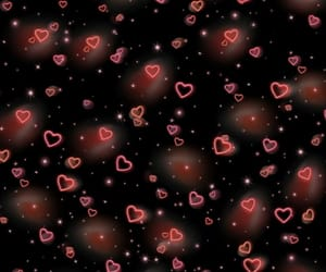 overlay, edit, and hearts image