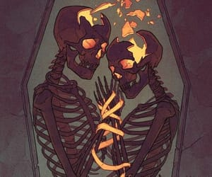 broken, love, and coffin image
