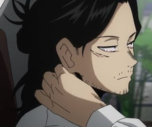 anime, bnha, and aizawa image