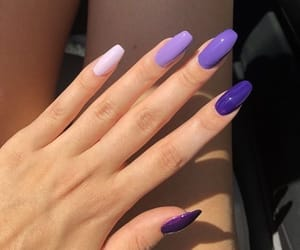 beauty, purple, and style image