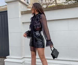 bag, blouse, and chic image