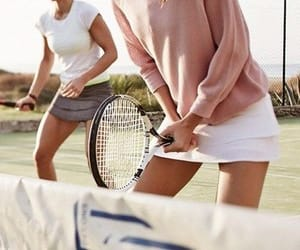 tennis, fashion, and sport image