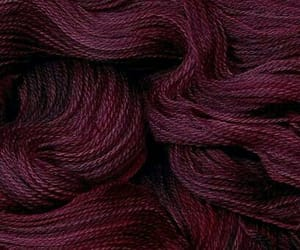 colours, deep red, and wool image