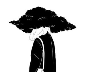 art, gif, and sad image