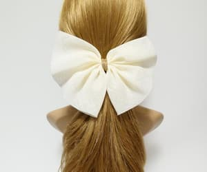 etsy, hair accessory, and bowhairbarrette image