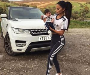adidas, baby, and car image