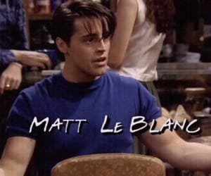 friends, 90s, and joey tribbiani image
