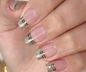 clear, girly, and nail art image