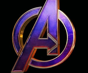 Avengers, Logo, and Marvel image