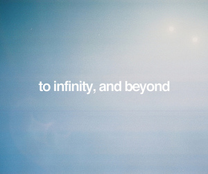 text, infinity, and quote image