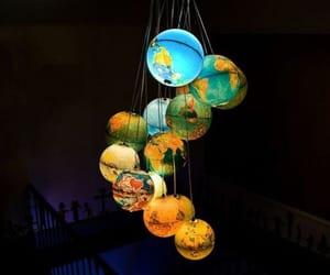 light, globe, and world image