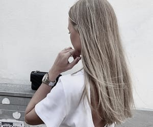 blonde and hair image