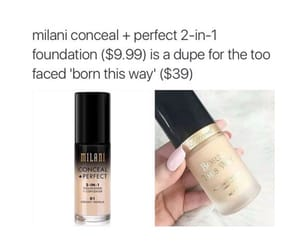 beauty, dupe, and makeup image