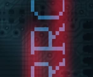 error, neon, and red image