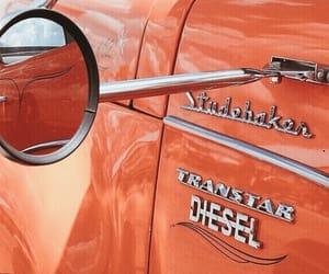 car, orange, and theme image